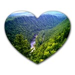 Pa Grand Canyon Long North View Of Gorge   Artrave Mousepad (Heart)