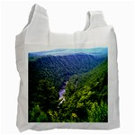 Pa Grand Canyon Long North View Of Gorge   Artrave Recycle Bag (One Side)