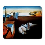 Salvador Dali - The Persistence of Memory - Melting Clocks Large Mousepad