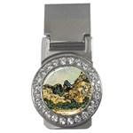 Vincent Van Gogh - Mountains at Saint-Remy Money Clip (CZ)