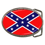US Confederate Battle Flag Bright Belt Buckle