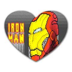 Iron Man Mouse Pad (heart) by Contest1666309