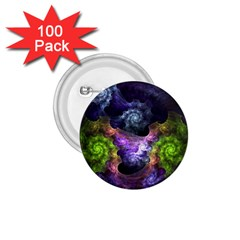 Blue and Green Dark Fractal 1.75  Button (100 pack)  from DesignMonaco.com Front