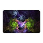 Blue and Green Dark Fractal Magnet (Rectangular)