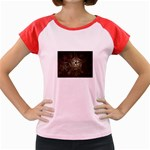 Dark Web Fractal Women s Cap Sleeve T-Shirt