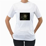 Dark Web Fractal Women s T-Shirt