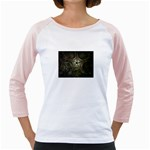 Dark Web Fractal Jr. Raglan