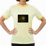 Dark Web Fractal Jr. Ringer T-Shirt