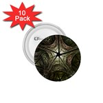 Dark Web Fractal 1.75  Button (10 pack)