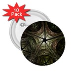 Dark Web Fractal 2.25  Button (10 pack)