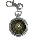Dark Web Fractal Key Chain Watch