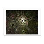 Dark Web Fractal Sticker A4 (10 pack)
