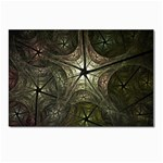 Dark Web Fractal Postcard 4 x 6  (Pkg of 10)
