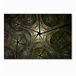 Dark Web Fractal Postcards 5  x 7  (Pkg of 10)