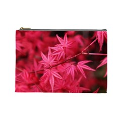 Red Autumn Cosmetic Bag (large) by ADIStyle