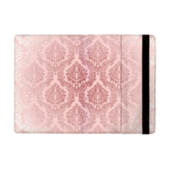 Luxury Pink Damask Apple Ipad Mini Flip Case by ADIStyle