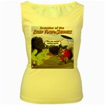 Killer Tomato Squirrel Women s Yellow Tank Top
