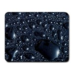 Metallic Rain Drops Small Mousepad