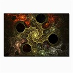 Alien Fractal Postcards 5  x 7  (Pkg of 10)