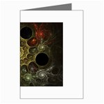 Alien Fractal Greeting Card