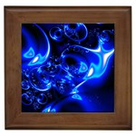 Outer Space Fractal Framed Tile