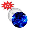 Outer Space Fractal 1.75  Button (10 pack)
