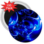 Outer Space Fractal 3  Magnet (100 pack)