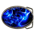Outer Space Fractal Belt Buckle