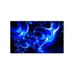 Outer Space Fractal Sticker (Rectangular)