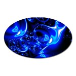 Outer Space Fractal Magnet (Oval)