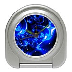 Outer Space Fractal Travel Alarm Clock