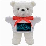 Teal Fractal Teddy Bear
