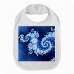 Ice Blue Fractal Bib