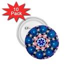 Mandala Crystal Earth  1.75  Button (10 pack)