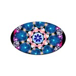 Mandala Crystal Earth  Sticker Oval (10 pack)