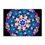 Mandala Crystal Earth  Sticker A4 (10 pack)
