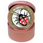Lady Bug Jewelry Case Clock
