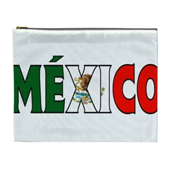 Mexico (n) Cosmetic Bag (xl) by worldbanners