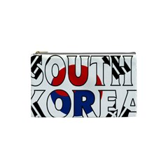 South Korea Cosmetic Bag (small) by worldbanners