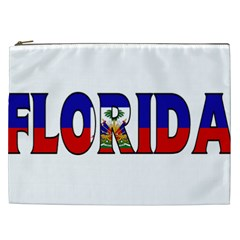 Florida Haiti Cosmetic Bag (xxl) by worldbanners