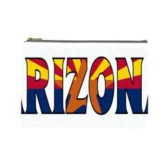 Arizona Cosmetic Bag (large) by worldbanners