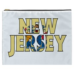 New Jersey Cosmetic Bag (xxxl) by worldbanners