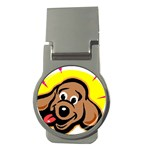 Dog Money Clip (Round)