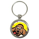 Dog Key Chain (Round)