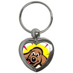 Dog Key Chain (Heart)