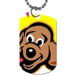 Dog Dog Tag (One Side)