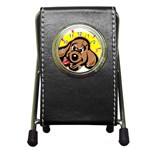 Dog Pen Holder Desk Clock