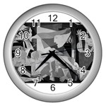 Pablo Picasso - Guernica Round Wall Clock (Silver)