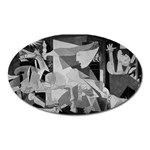 Pablo Picasso - Guernica Round Magnet (Oval)