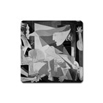 Pablo Picasso - Guernica Round Magnet (Square)